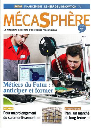 Maud Ezavin, Rédactrice en chef adjointe du Magazine MécaSphère numéro de février 2016